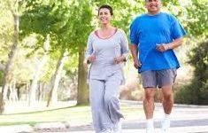Healthy People Jogging